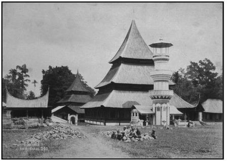 masjid raya pangkalan zaman dulu