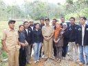 Foto Bersma Bapak Camat Pangkalan Koto Baru bersama FK/FT, UPK, PL, dan Kader-kader, dalam peresmian pembukaan jalan baru di kenagarian Koto Alam