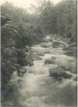 """Rivier, vermoedelijk een een zijtak van de Batang Samo tussen Pajakoemboeh en Pangkalankotabaroe (terjemahan: """"Sungai, agaknya cabang dari Batang Samo antara Pakoemboeh dan Pangkalankotabaroe"""")."""