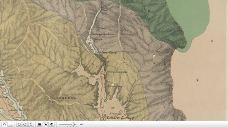 Peta Sarilamak - Hulu Air Tahun 1880